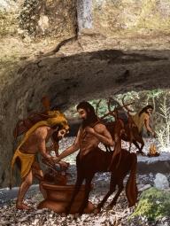 Dall'app Mostri mitologici-Chirone
