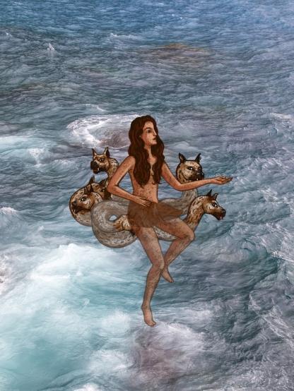 Dall'app Mostri mitologici-Scilla
