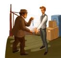 Sherlock Holmes-ladro catturato