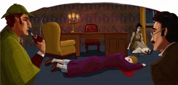 Sherlock Holmes-La scena del crimine