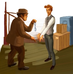 Sherlock Holmes-La lega dei capelli rossi 11