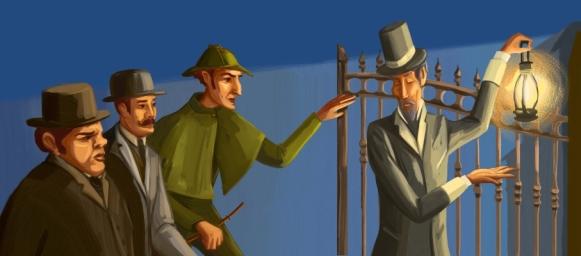 Sherlock Holmes-La lega dei capelli rossi9