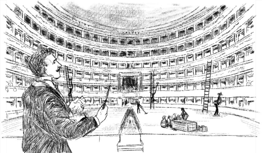 Toscanini8 con Toscanini